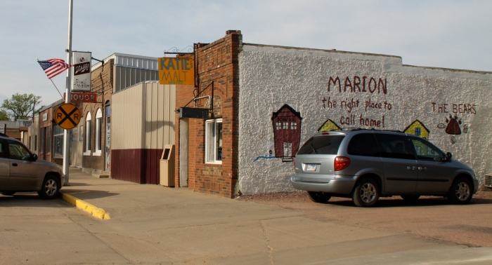 Katie's Malt Shoppe on Broadway in Marion.